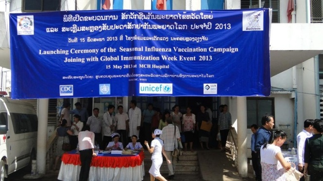 Lao PDR_Corwin_Flu Vaccine Launching- 2 of 4