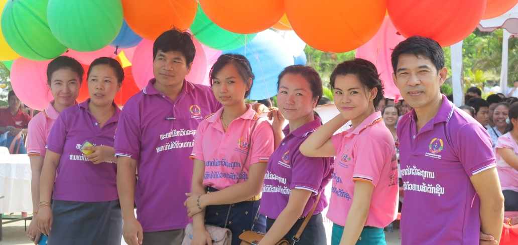 Laos - 2014 Launch with Balloons V2