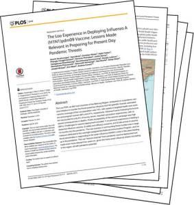 Laos 2009 Pandemic Paper Image