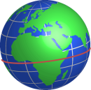 Globe with Equator
