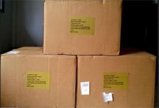 Laos GC 2015 Donation Boxes